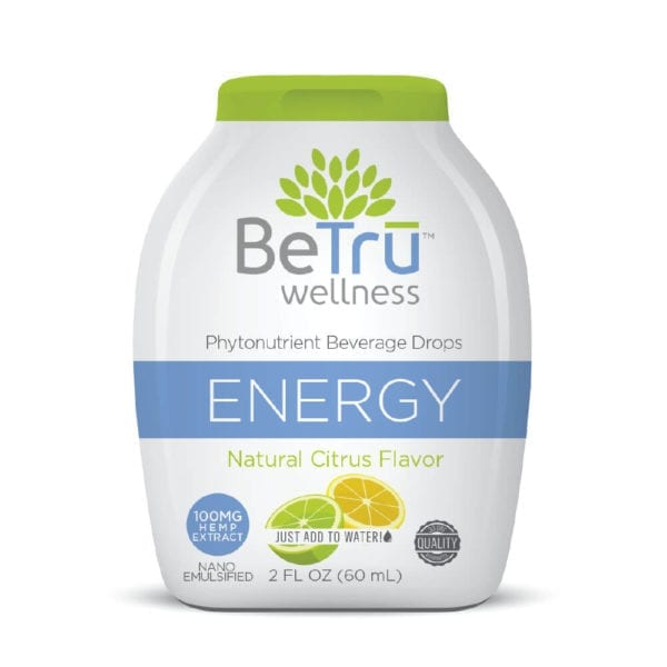 Be Trū Wellness ENERGY Beverage Drops – Citrus