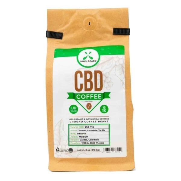 Green Roads CBD Coffee – 8oz
