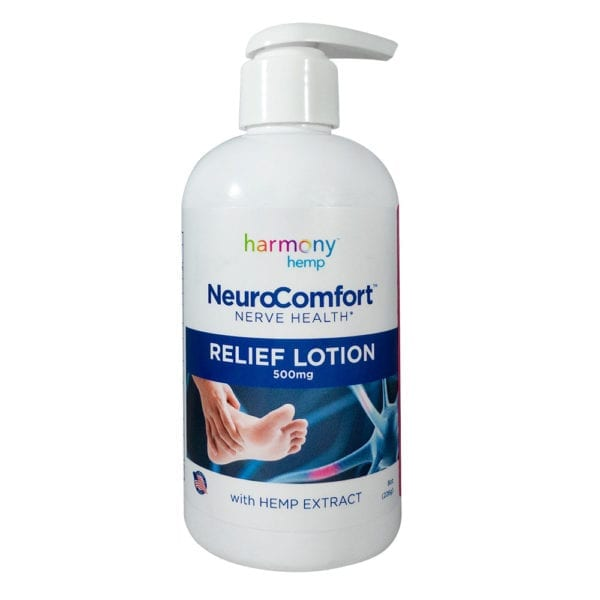 Harmony Hemp NeuroComfort™ Relief Lotion – 500mg