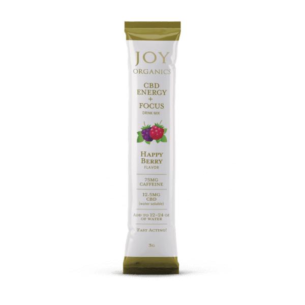 Joy Organics CBD Energy Drink Mix 5-pack