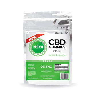 Reliva CBD Wellness Gummies 10-Pack 100mg