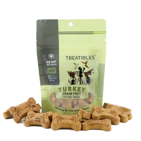 Treatibles® Large Turkey Grain Free Hard Chews Introductory Pack