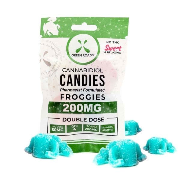 CBD Froggies 200mg – 4 Count