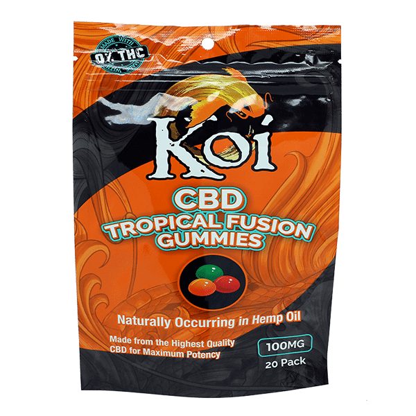 Koi CBD Tropical Gummies 100mg